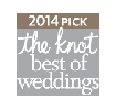 The Knot best of weddings badge 2014