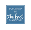 Published in The Knot magazine badge
