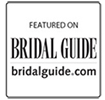 Featured on Bridal Guide badge